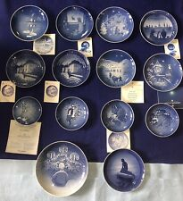 Mixed Lot Of 14 Bing & Grondahl Collectible Plates See Description For List