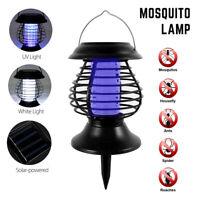 Lampe trappeur tueur lumière d'insecte mouche moustique extérieur solaire G