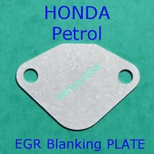 EGR valve blanking plate Honda Accord Prelude Civic Jazz Shuttle Petrol engines