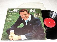 "Andy Williams ""Dear Heart"" 1965 LP, Nice VG++!, Mono, Columbia #CL-2338"