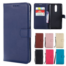 Vintage Leather Wallet Case Card Pouch Flip Cover for Nokia 3 5 6 8 9 N630 N640