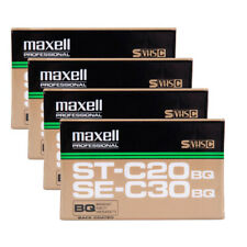 Maxell Vhs-C St-C20 / Se-C30 21 Minutes - 4pack