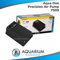 Aqua One Precision 7500 Aquarium Air Pump Fish Tank Aerator, Oxygen, Bubbles