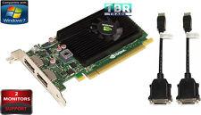 HP Nvidia Quadro NVS 310 Win7 Video Graphics Card 512 MB Low Bracket 707252-001