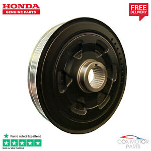Genuine Honda FR-V 2.2 Diesel I-Ctdi Crankshaft Pulley 2006-2009