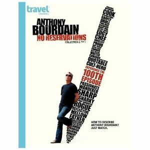 Anthony Bourdain: No Reservations - Collection 6, Part 2 (DVD, 2012, 2-Disc Set)