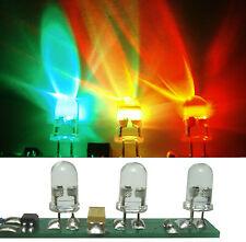 2 St. LED LICHTORGEL FÜR DISCO KIRMES anschlussfertig Blinklicht in RGB Farben