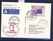 56013) easy Jet FF Basel Schweiz Dresden 3.12.2010, GA T.P.,  Schumann Musik