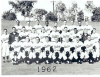 1962 SAN DIEGO PADRES PCL TEAM 8X10 PHOTO  BASEBALL CALIFORNIA USA