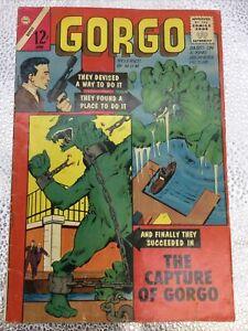 GORGO #13 - 1963 - Charlton Comics Group Silver Age Classic - Steve Ditko Art!