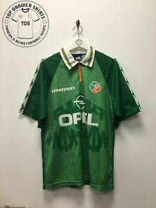 Republic of Ireland 1996/1998 home football shirt Men's Medium
