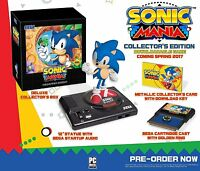 Sonic Mania: Collector's Edition [PlayStation 4 PS4, Collectible, Statue] NEW