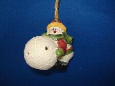 Snowman Ornament Snowboy with Snowball 26812S 66