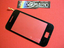 VETRO + TOUCH SCREEN per SAMSUNG GALAXY ACE GT S5830 DISPLAY LCD NERO COVER