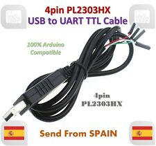 4pin PL2303 PL2303HX USB to UART TTL Cable Module 4 pin RS232 Serial Cable