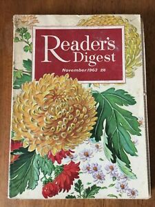 Vintage November 1963 Issue of Readers Digest (Reader's Digest) magazine