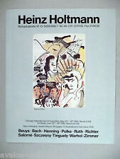 Sigmar Polke Art Gallery Exhibit PRINT AD - 1990