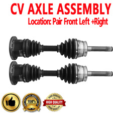Front Pair CV Joint Axle Shaft for N D21 1994 N PATHFINDER 96-04 4WD