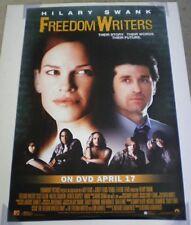 FREEDOM WRITERS DVD MOVIE POSTER 1 Sided ORIGINAL 27x40