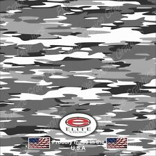 "Traditional Snow CAMO DECAL 3M WRAP VINYL 52""x15"" TRUCK PRINT REAL CAMOUFLAGE"