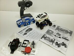 LOSI MICRO RALLY CAR RTR 1/24 SCALE USED VERY GOOD CONDITION (2) BODIES INCLUDED