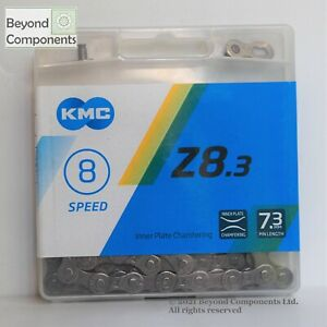 KMC 5 / 6 / 7 / 8 Speed Chain Z8.3 MTB Road Bike Chain 116 links Retail Box