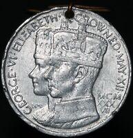 1937 | George VI & Queen Elizabeth Coronation Medal | Medals | KM Coins