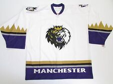 MANCHESTER MONARCHS AUTHENTIC AHL WHITE PRO REEBOK 6100 HOCKEY JERSEY SIZE 54
