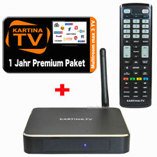 Kartina X BOX + 1 Jahr Kartina.TV Premium Abo   Pristavka DUNE HD HDTV 4K WLAN