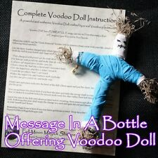 Message In A Bottle Voodoo Doll Ritual Poppet Money Love Curse Sex Luck Prayer