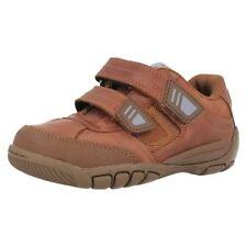 Chaussures marron avec attache auto-agrippant pour garçon de 2 à 16 ans pointure 33