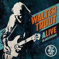 LP-WALTER TROUT-ALIVE IN AMSTERDAM -3LP- NEW VINYL RECORD