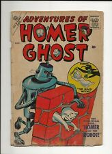 ADVENTURES OF HOMER GHOST #2 1957 ATLAS MARVEL SILVER AGE CARTOON ROBOT COVER PR