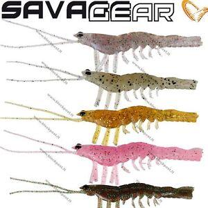 Savage gear 3D Manic Shrimp 5 cm or 6.6 cm(6pcs. in pack)  6 Different colors
