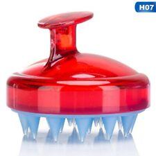 Silicone Scalp Shampoo Massage Brush Washing Massager Shower Head Hair Comb SALE