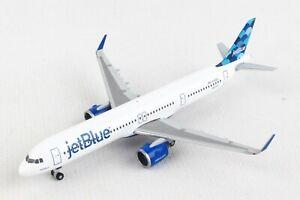 "Herpa Wings JetBlue Airbus A321neo ""Balloons"" 533805 1/500 Reg#N2002J, New"