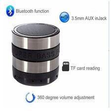 Mini USB Bluetooth Lautsprecher Box Stereo Speaker MP3 FM Radio Musik Player