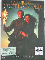 Outlander Season 5 DVD ( 4-Disc Set ) New & Sealed Free Shipping US Seller