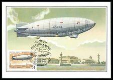 Russia MK 1991 Zeppelin n-1 Norge 1923 maximum carta carte MAXIMUM CARD MC m402
