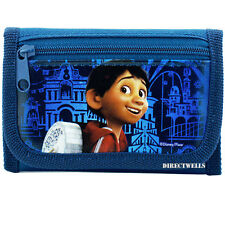 Disney Pixar Coco Miguel Rivera Navy Trifold Wallet