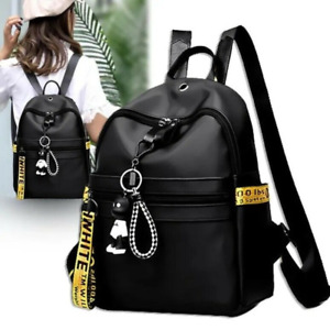 Women Nylon Backpack Shoulder Bag Multi-purpose Casual School Travel Handbags