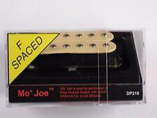 DiMarzio F-spaced Mo' Joe Bridge Humbucker Creme W/Chrome Poles DP 216