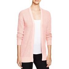 MICHAEL Michael Kors 6075 Womens Pink Knit Marled Cardigan Sweater S BHFO