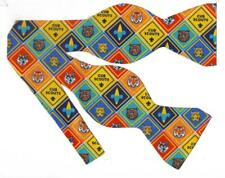 Cub Scout Badges Bow tie / Self-tie Bow tie / Tiger, Wolf, Bear, Bobcat, Webelos