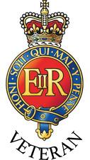 Blues and Royals Veteran Car Sticker