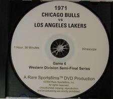 1971 Bulls-Lakers NBA Playoff Game on DVD!