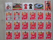 23 Panini Bilder/Sticker 1. FC Köln Topps Bundesliga 2009/10