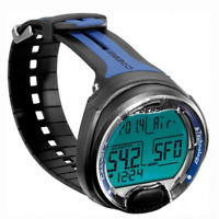 Cressi Dive Computer for Scuba Wrist Watch Nitrox Diving Leonardo Blue 4UK