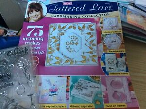 Tattered Lace Card making magazine Issue 2. Stamps and emb. Folder only No card.