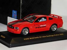 FORD MUSTANG GT USA STALLINGS POLICE 2005 IXO MOC069 1/43